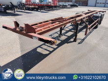Ackermann container semi-trailer FRUEHAUF 40 FT BPW full steel