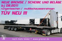 semi remorque Schmitz Cargobull SCS 24/ SATTEL PLATEAU MULTILOCK neue BREMSE
