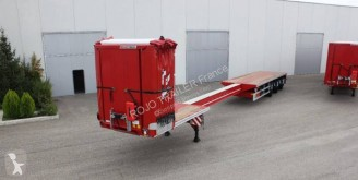 Félpótkocsi Rojo Trailer PLSC Extensible neuve à 3 essieux directeurs et Open Box C+ à ouverture totale új függönyponyvaroló