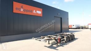 semi remorque Groenewegen 20FT/30FT, BPW, Liftaxle, ADR (EXII, EXIII, FL, OX, AT), NL-chassis