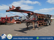 Semi remorque porte containers Ackermann FRUEHAUF 40 FT BPW full steel