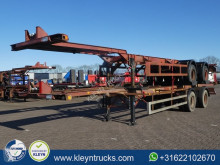 semi remorque Ackermann FRUEHAUF 40 FT BPW full steel