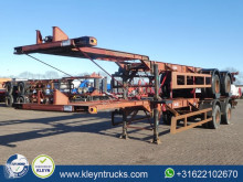 Semirimorchio portacontainers Fruehauf 40 FT BPW full steel