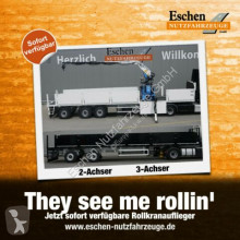 semi reboque nc Wilken Rollkranauflieger, BPW, Zwangslenkung