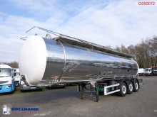 semi remorque Indox Chemical tank inox 35 m3 / 1 comp