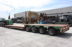 used heavy equipment transport semi-trailer