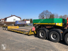 Goldhofer heavy equipment transport semi-trailer STZ - VL3 - 37/80A Tieflader 3 lenk. Achse