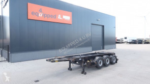 naczepa Van Hool 20FT/3-assen, leeggewicht: 3.300kg, SAF INTRADISC, 2x liftas, ADR (EXII, EXII, FL, OX, AT), NL-Chassis