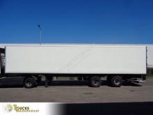 Semi remorque frigo mono température Krone SZF 20 + Carrier Maxima 2 + + Steering axle