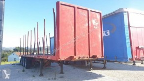 Used timber semi-trailer Fruehauf