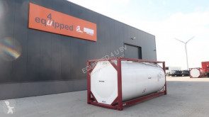 TOP: ONE WAY 20FT, 25.000L tankcontainer, L4BN, UN Portable, T11, steam heating, bottom discharge used tanker