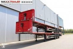 Fruehauf flatbed semi-trailer gerbage 5x plateaux DISPO