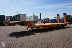 Scorpion Semi Lowboy 3-assig/ 54T semi-trailer used heavy equipment transport