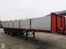 Trailer platte bak Pacton TPD 345 | Alu borden | 2 steering axles