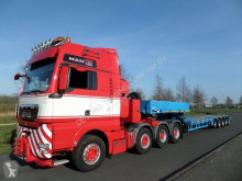 Goldhofer heavy equipment transport semi-trailer STZ-L5-54/80AA Double Extendable Semi Low Loader