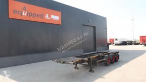 trailer Desot SAF INTRADISC, 2x liftas, NL-chassis