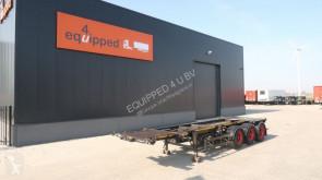 naczepa Desot SAF INTRADISC, 2x Liftaxle, NL-chassis
