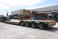 naczepa do transportu sprzętów ciężkich używany