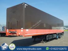 semi remorque Groenewegen CLOSED BOX taillift