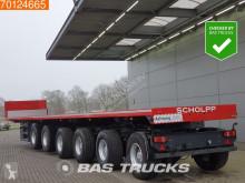 semirimorchio ES-GE 6-Axle Ballast trailer 85.000 GVW 5x Lenkachse 2x Liftachse Hardholz-Boden
