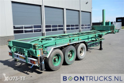 Van Hool container semi-trailer SK305 | 30ft TIPPER *STEEL SUSPENSION*