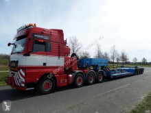 Goldhofer heavy equipment transport semi-trailer STZ-VL4-42/80A Extendable Low Loader + 5.000 mm Extension Beams