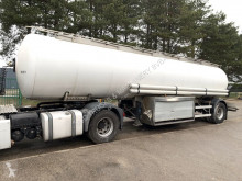 semiremorca Magyar FUEL (+ OIL) TANKER / CITERNE CARBURANT (+ HUILE) - 21.000 L - 6 COMPARTIMENTS - STEEL SPRING / SUSP. LAMES - FRUEHAUF AX