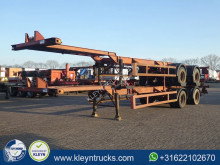Semirimorchio portacontainers Pacton 40 FT BPW full steel