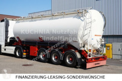 Kässbohrer SSK40 Kipp Silo 40m³ Alu Lift BPW TOP Zust. semi-trailer used powder tanker