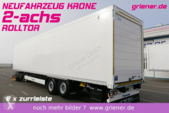 Krone box semi-trailer SZK 18 eLB4 LI / ROLLTOR / LIFTACHSE / AMAZON
