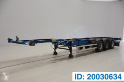 Semirimorchio portacontainers Turbo's Hoet 2 x 20-40 ft skelet