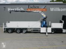 Nc dropside flatbed semi-trailer Wilken Kranauflieger Rollkran Kennis 16-R/84-4