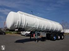 Félpótkocsi Indox Citerne tout acier 28000 litres használt vegyi anyagok tartálykocsi