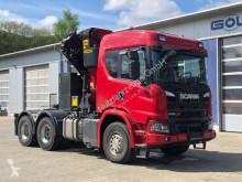 Sættevogn Scania G500 6x4 Euro 6 SZM Kran Palfinger PK42002 G brugt