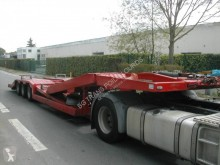 Louault semi-trailer used heavy equipment transport