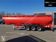 Semi remorque citerne pulvérulent Feldbinder EUT 57.3 / 57 m3 / 4 Kammern / Futtermittel