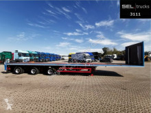 Schmidt heavy equipment transport semi-trailer Hagen / Doppeltele zwangsgel. / 27 m /MEGA