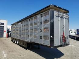 Semi remorque bétaillère Pezzaioli Menke-Janzen / 4 Stock / Hudbach / Lenkachse