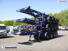 Semirimorchio portacontainers Montracon Stack - 3 x container trailer 20-30-40-45 ft