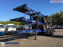 Semi remorque porte containers Montracon Stack - 3 x container trailer 20-30-40-45 ft