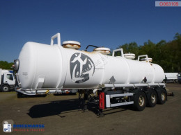 Maisonneuve Chemical ACID tank inox 22.5 m3 / 2 comp semi-trailer used chemical tanker