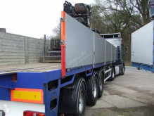 Floor kraanoplegger semi-trailer