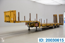 Semirimorchio trasporto macchinari Turbo's Hoet Low bed trailer