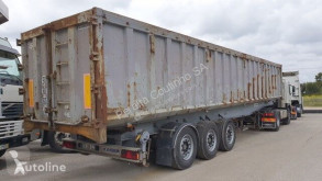Semirremolque volquete Kaiser / Back kipper trailer alu chassi / Steel box 52 m3