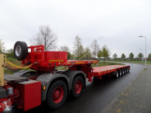 Полуремарке Goldhofer STZ L6-62/80 Double Extendable Semi Low Loader превоз на строителна техника втора употреба