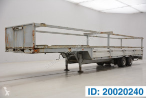 Titan Low bed trailer semi-trailer used heavy equipment transport