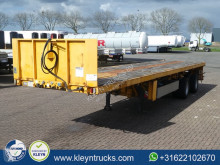 Nooteboom flatbed semi-trailer OVB-38-02