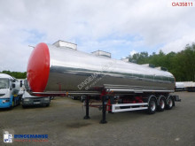 BSLT Chemical tank inox 33 m3 / 1 comp semi-trailer used chemical tanker