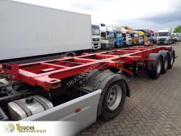 Semi remorque porte containers Fliegl SDS 350 + + lift axle + 20-30 ft