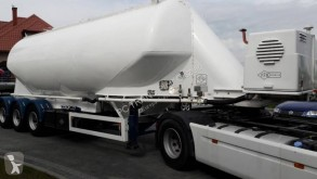 Used powder tanker semi-trailer Feldbinder EUT 40,3 DIESEL KOMPRESOR GHH